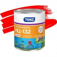Эмаль Текс Нитро НЦ-132 красная 0,8 кг