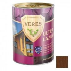 Пропитка для древесины Veres Ultra Lazura № 8 Дуб темный 0,9 л