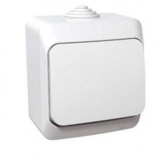 Переключатель Schneider Electric Этюд BA10-046B IP44 одноклавишный белый