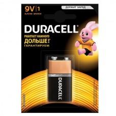 Батарейка алкалиновая Duracell Basic 9V 6LR61 Bl-1 1 шт