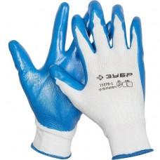 Перчатки Зубр Мастер 11276-XL маслостойкие для точных работ