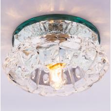 Светильник точечный встраиваемый Italmac Bohemia 220 8 70 G9 прозрачный 40 Вт