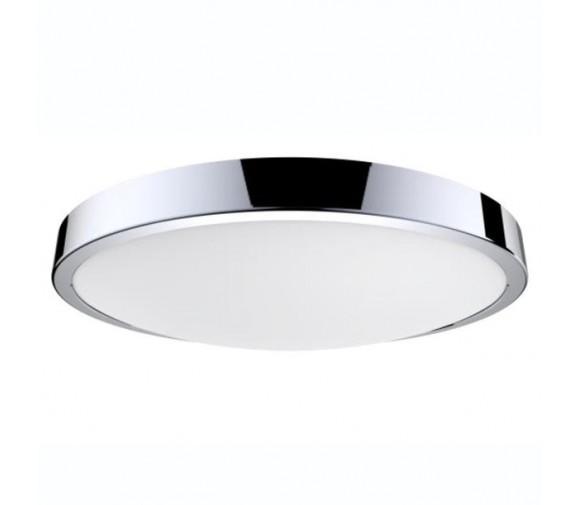 Светильник светодиодный Gauss круглый хром LED IP20 12W 4100К круглый хром