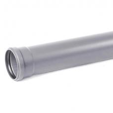 Труба канализационная ПВХ Хемкор Ду 50х3,2х500 мм с кольцом