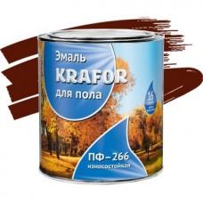 Krafor ПФ-266 красно-коричневая 1,9 кг