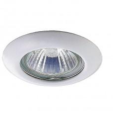 Светильник встраиваемый Novotech Tor 369111 NT09 279 белый GX5.3 50W 12V