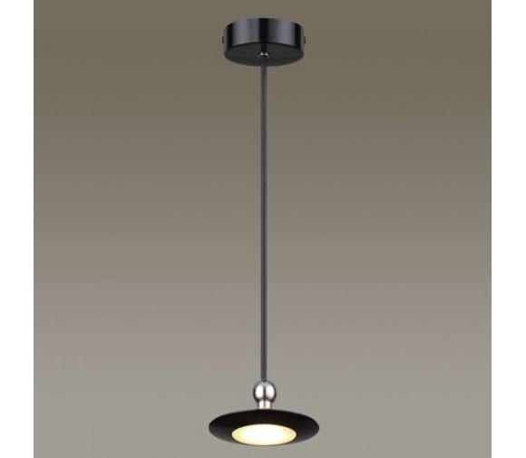 Подвес светодиодный Odeon Light Uliss 3811/7L черный глянцевый 7W 220V