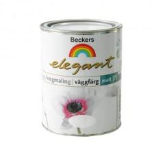 Краска Beckers Elegant Vaggfarg Matt Bas C матовая 0,9 л