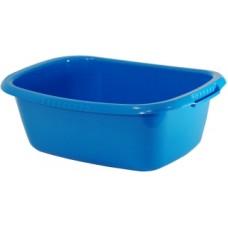Таз овальный 32 литра синий
