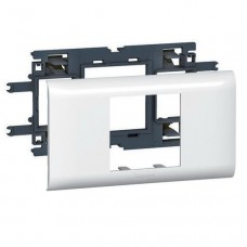 Суппорт для кабель-канала DLP Legrand Mosaic 010952 2 модуля 65 мм