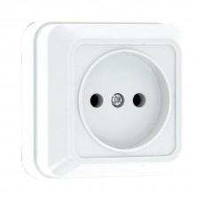 Розетка EKF Рим ENR10-022-10C одноместная белая