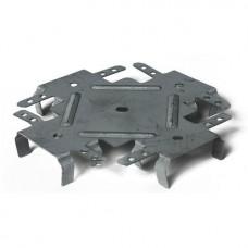 Соединитель одноуровневый Металлист для ПП-профилей 148х56х20x0.7 мм