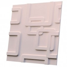 Дизайнерская 3D панель из гипса Artgypspanel Окна 500х500 мм