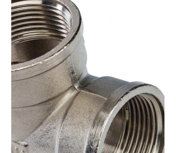 Крестовина Stout SFT-0031-000114 1 1/4 дюйма никелированная с внутренней резьбой