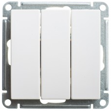 Механизм выключателя Schneider Electric W59 VS0510-351-1-86 трехклавишный белый