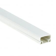 Кабель-канал EKF-Plast Proxima 12х12 мм с двойным замком белый