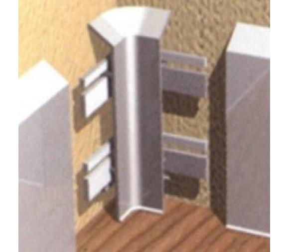 Угол внутренний для алюминиевого плинтуса Progress Plast PKIAGI 100