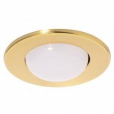 Светильник точечный встраиваемый Italmac Prima 80 0 04 R80 золото 100 Вт