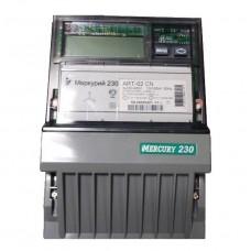 Счетчик электроэнергии Инкотекс Меркурий 230 ART-02 CN 10-100A трехфазный многотарифный