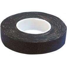 Изолента х/б черная 18мм*30м (мятая, неравномерный клеевой состав)