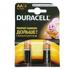 Батарейка алкалиновая Duracell Basic AA LR6 Bl-2 2 шт