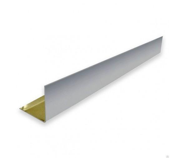 L-профиль алюминиевый Cesal А08 хром люкс