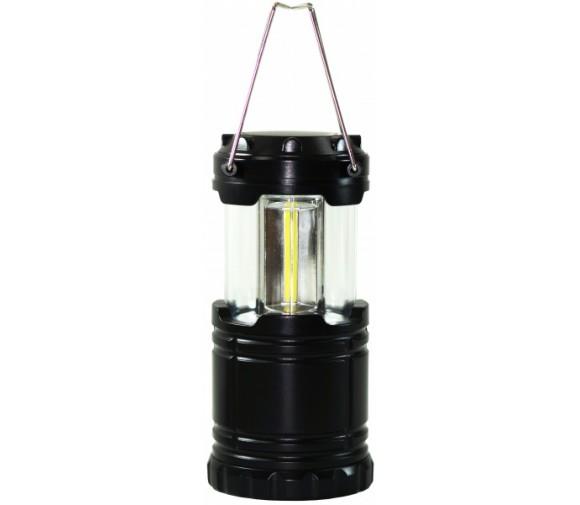 Кемпинговый светодиодный фонарь (большой), 3COB, 3хАА, пластик