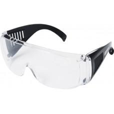 Очки защитные прозрачные с дужками(не товарный вид)