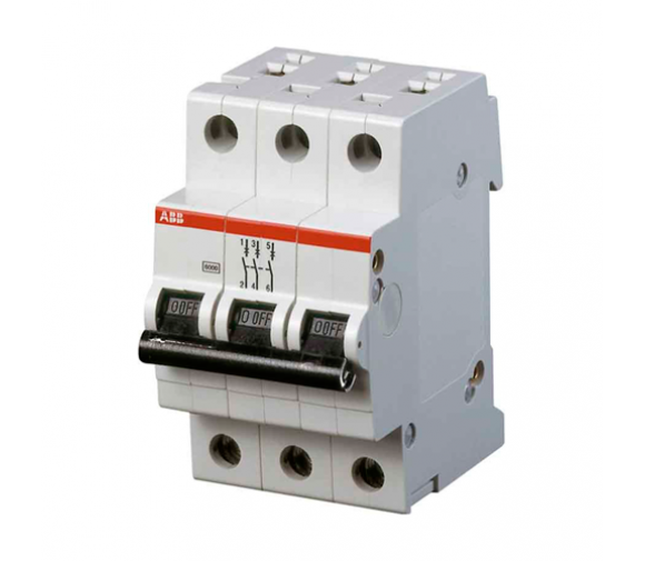 Автоматический выключатель ABB SH203L 2CDS243001R0064 C6