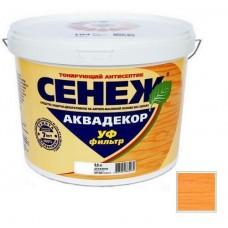 Антисептик тонирующий Сенеж Аквадекор 104 Лиственница 0,9 кг