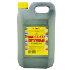 Лак битумный Ясхим БТ-577 Кузбасс-Лак черный 10 л