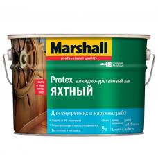 Лак алкидно-уретановый Marshall Protex Яхтный глянцевый 9 л