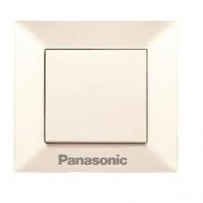 Выключатель Panasonic Arkedia WMTC00012BG-RES одноклавишный кремовый