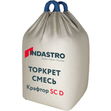 Торкет смесь Индастро Крафтор SC60 D полимерная фибра 1000 кг