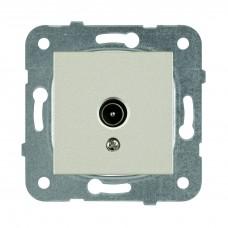 Механизм розетки телевизионной проходной Panasonic Karre Plus WKTT04522BR-RES 12dB одноместная бронза