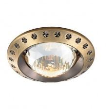 Светильник встраиваемый Novotech Glam 369645 NT12 233 бронза GX5.3 50W 12V