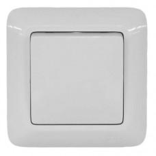 Выключатель Schneider Electric Прима VS1U-116-B одноклавишный белый