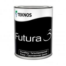 Грунт-краска Teknos Futura 3 0,9 л