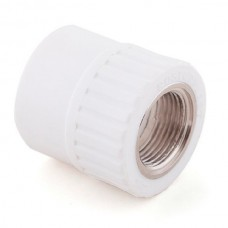 Муфта комбинированная PPR Remsan 448718 25 мм 3/4 дюйма с внутренней резьбой белая