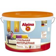Краска Alpina Стильная интерьерная База 3 матовая 2,35 л