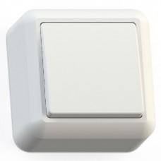 Выключатель Кунцево-Электро Оптима А110-377 одноклавишный белый