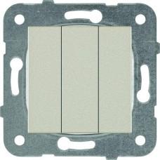 Механизм выключателя Panasonic Karre Plus WKTT00152BR-RES трехклавишный бронза