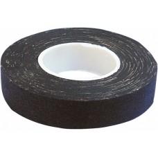 Изолента х/б черная 18мм*10м (мятая, неравномерный клеевой состав)
