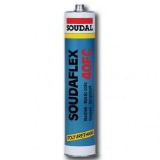 Герметик полиуретановый Soudal Soudaflex 40 FC белый 310 мл