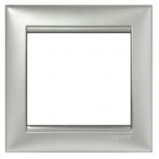 Рамка одноместная Legrand Valena 770151 алюминий