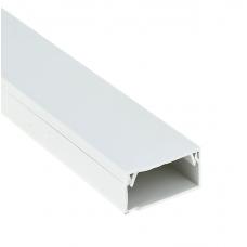 Кабель-канал EKF-Plast Proxima 40х25 мм с двойным замком белый
