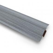 Плинтус ПВХ Ideal Комфорт К55 282 Палисандр Серый 2500х55х22 мм