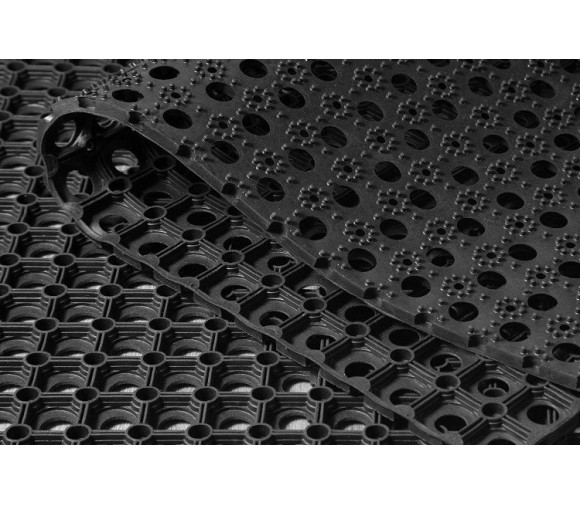 Коврик резиновый ринго-мат Eastern Rug Mills 1000х2000х22 мм ячеистый