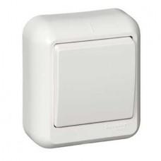 Выключатель Schneider Electric Прима A16-051-B одноклавишный белый