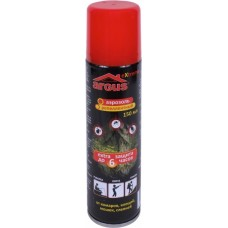 Аэрозоль от комаров, мошек, слепней и клещей ARGUS EXTREME 150мл